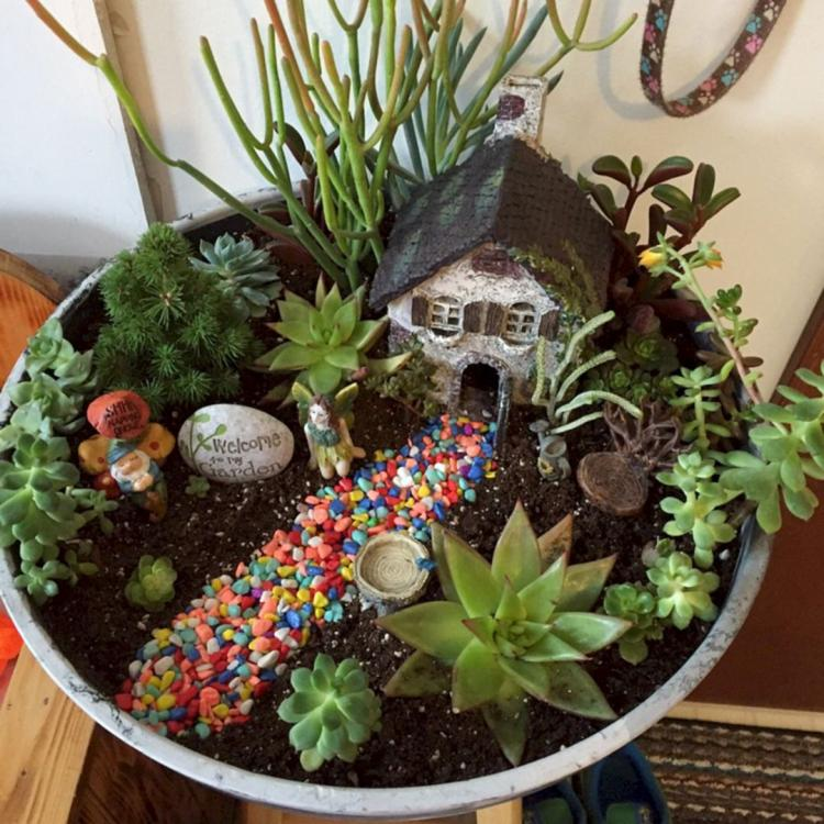 18 Beautiful Fairytale Garden Ideas: 55+ Nice And Beautiful Fairy Garden Ideas