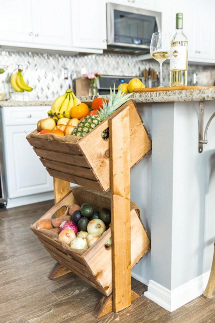 55 Unusual Kitchen Counter Organization Ideas