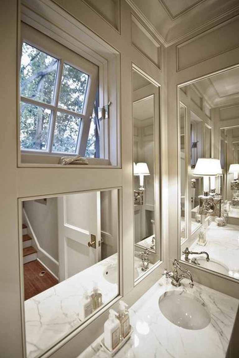 85+ Easy and Elegant Bathroom Mirrors Design Ideas - Page ...